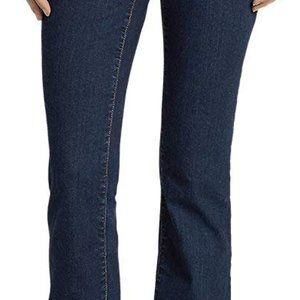 COPY - New size 6 tall/long Eddie Bauer jeans. Sl…